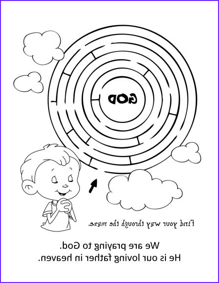 Free Printable Coloring Page On Prayer Beautiful Photos the Lord's Prayer – Coloring and Activity Book – Icharacter