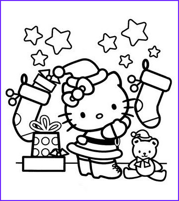 Free Printable Hello Kitty Coloring Page Cool Gallery Interactive Magazine Hello Kitty Christmas Coloring