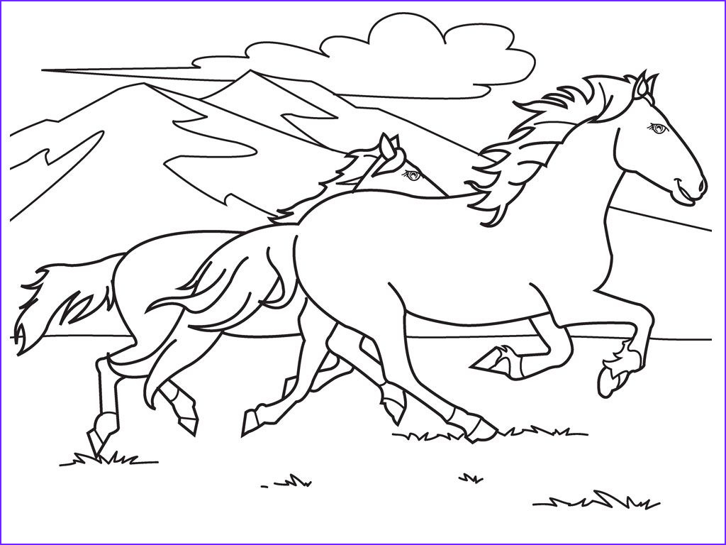 Free Printable Horse Coloring Page Awesome Photos Free Printable Horse Coloring Pages for Kids
