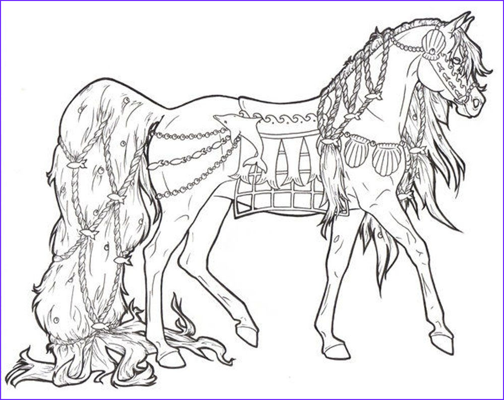Free Printable Horse Coloring Page Best Of Stock Free Printable Horse Coloring Pages for Adults