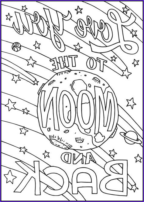 Free Printable I Love You Coloring Page for Adults Luxury Photos Pnterest Books Best I Love You to the Moon and Back
