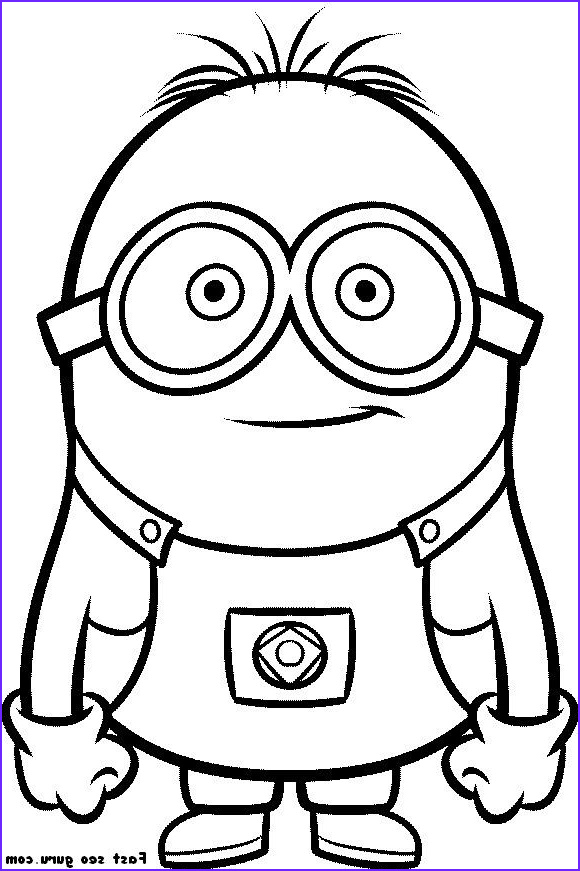 Free Printable Minion Coloring Page Inspirational Collection Printable Despicable Me Minions Printable Coloring Pages