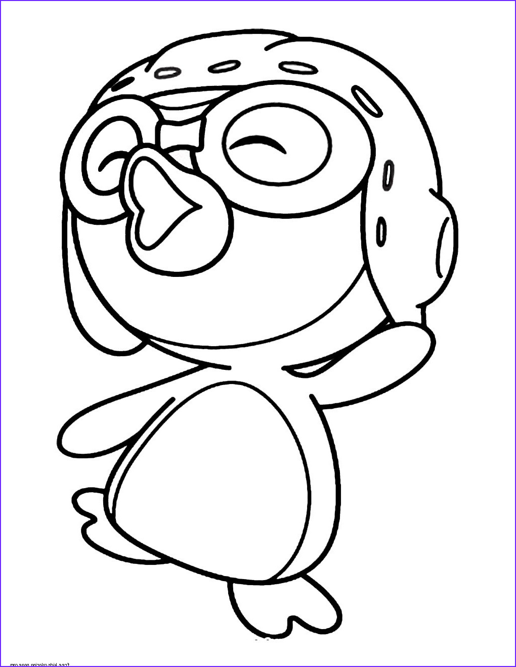 printable pororo the little penguin coloring pages for kids