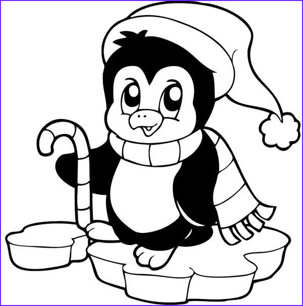 Free Printable Penguin Coloring Page Beautiful Photos Cute Penguin Christmas Coloring Pages