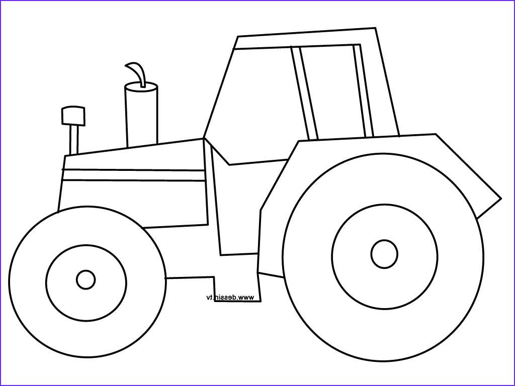 Free Tractor Coloring Page Inspirational Gallery Coloring Tractor