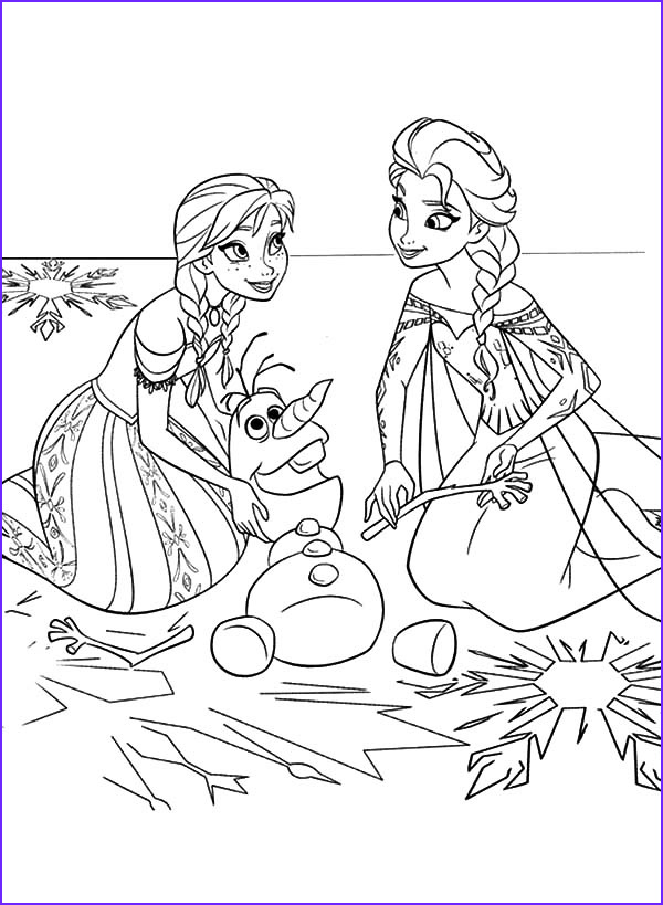 Frozen Coloring Page Olaf Unique Gallery Frozens Olaf Coloring Pages Best Coloring Pages For Kids
