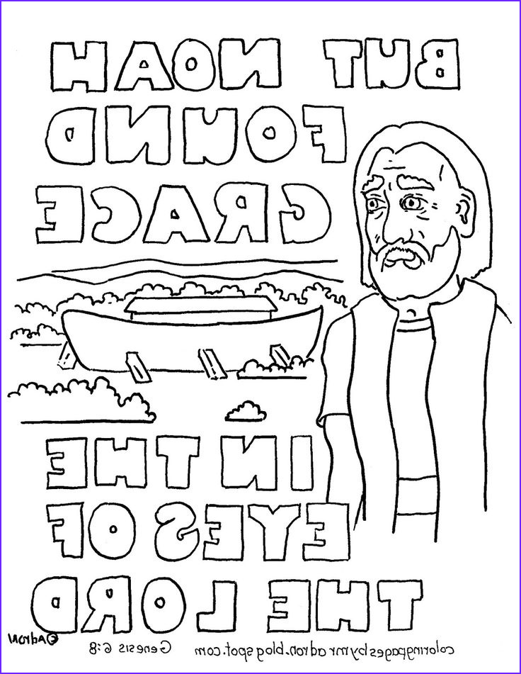 Genesis Coloring Page Inspirational Image Coloring Pages for Kids by Mr Adron Noah and the Ark