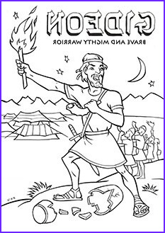 Gideon Coloring Page Awesome Image Gideon Colouring Page Unite123