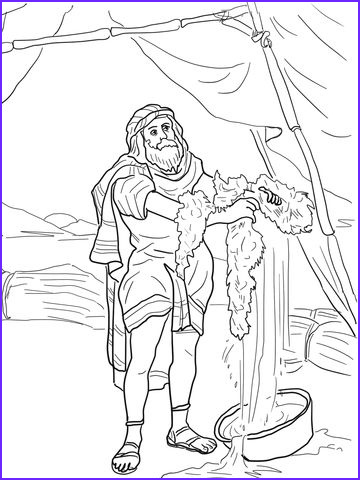 Gideon Coloring Page Beautiful Photos Gideon and the Fleece Coloring Page From Judge Gideon