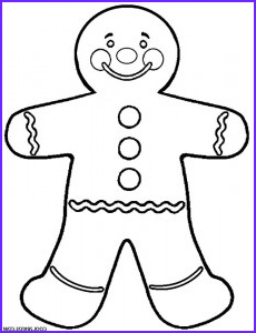 Gingerbread Coloring Page Beautiful Photos Printable Gingerbread House Coloring Pages for Kids