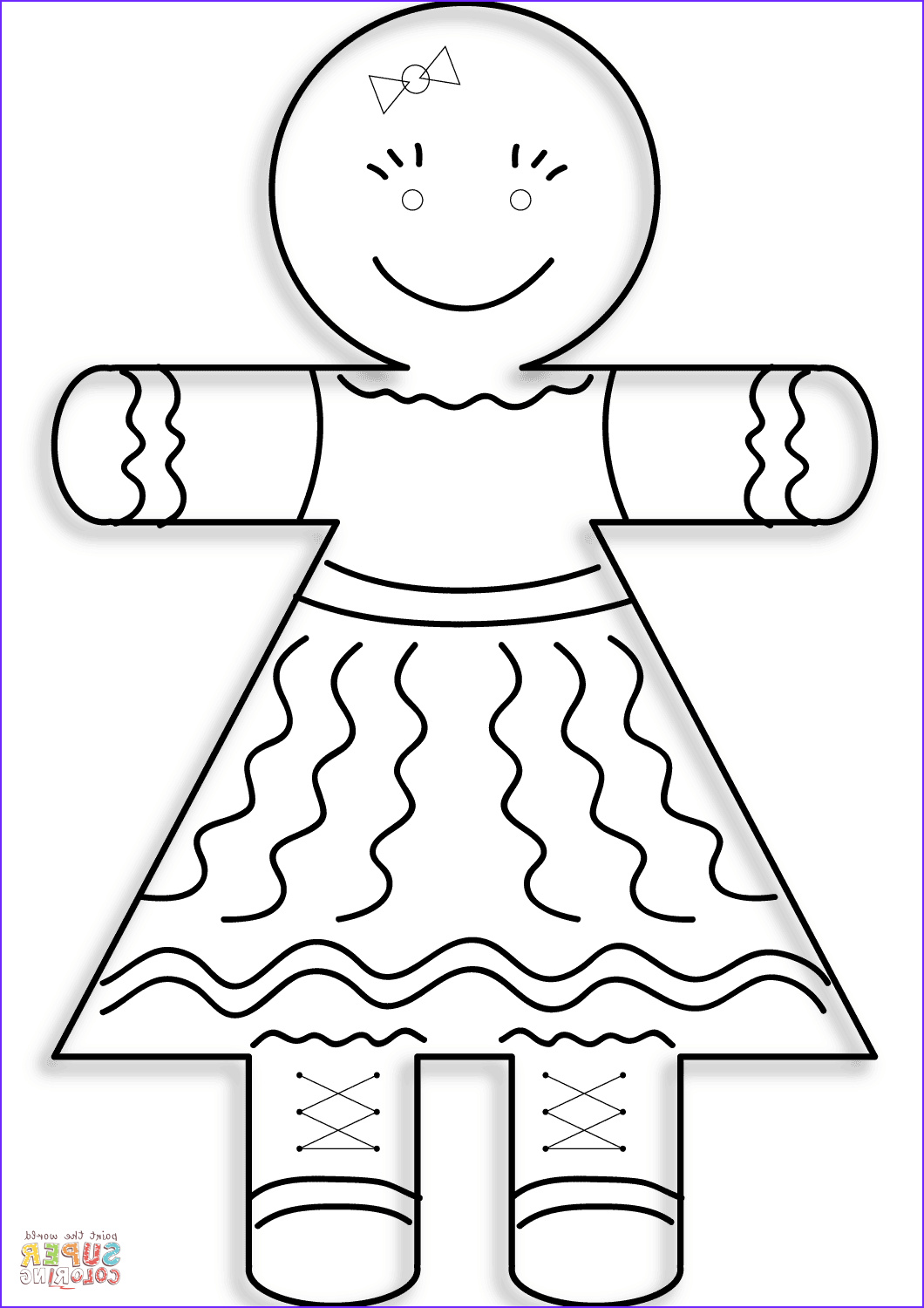 Gingerbread Coloring Page Elegant Gallery Gingerbread Girl Coloring Page
