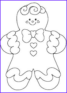 Gingerbread Girl Coloring Page Beautiful Photos Free Christmas Coloring Pages Gingerbread Man Coloring