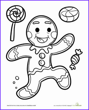 Gingerbread Girl Coloring Page Best Of Photos Gingerbread Man Coloring Page