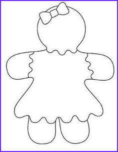 Gingerbread Girl Coloring Page Luxury Images Gingerbread Man Bulletin Board Project