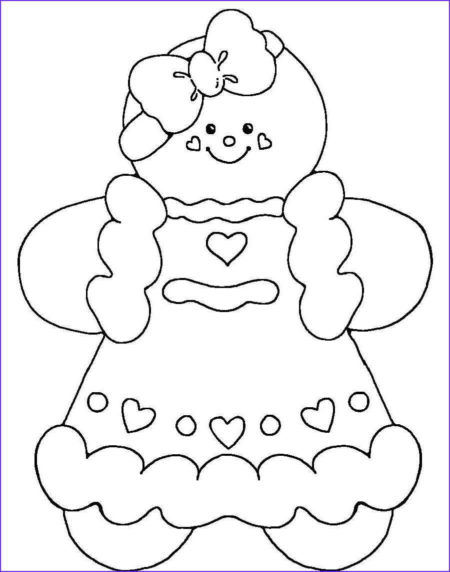 Gingerbread Girl Coloring Page New Photos Gingerbread Man Printable Coloring Gingerbread Girl