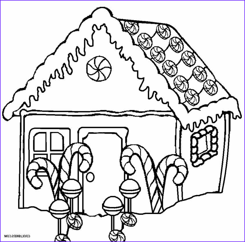 Gingerbread Houses Coloring Sheet Cool Photos Hansel and Gretel Gingerbread House Coloring Page