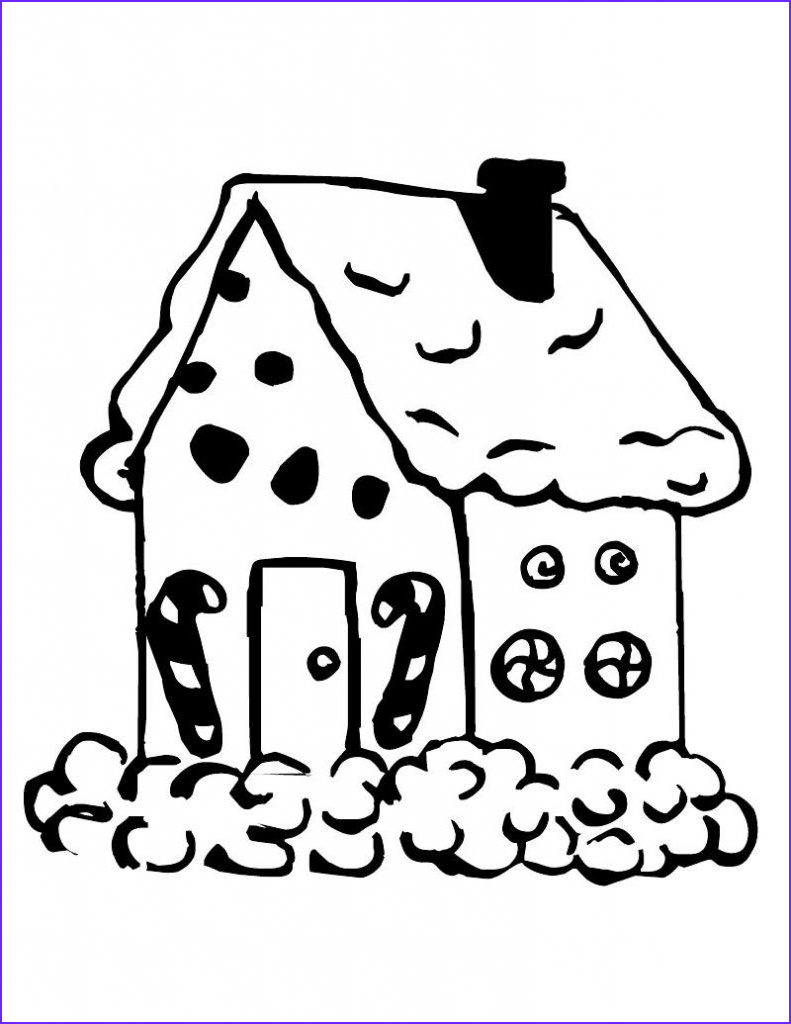 Gingerbread Houses Coloring Sheet Unique Image Free Printable Snowflake Coloring Pages for Kids