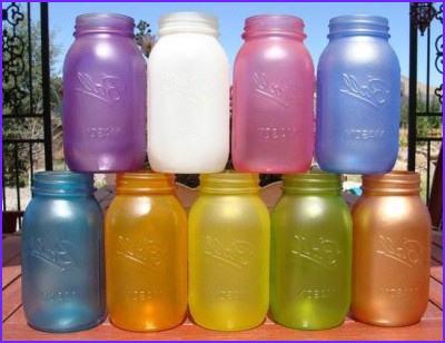 Glue and Food Coloring Stained Glass Luxury Photos Diy Sea Glass Mason Jars My Honeys Place