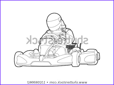 go kart coloring pages sketch templates