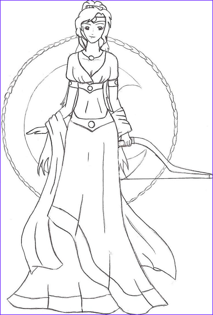 Goddess Coloring Page Elegant Stock Goddess Hestia Coloring Pages