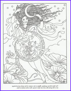 Goddesses Coloring Book Awesome Photos Adult Advanced Colouring In On Pinterest