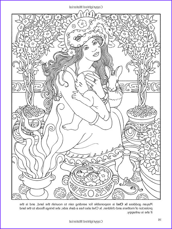 Goddesses Coloring Book Luxury Gallery Goddesses Coloring Book