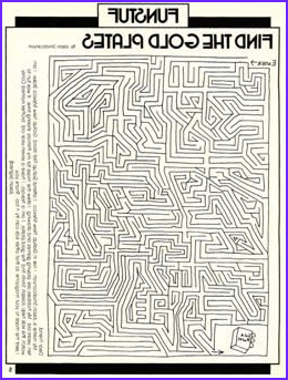 "Golden Plates Coloring Page Best Of Stock Maze ""find the Gold Plates"" Children Primary"