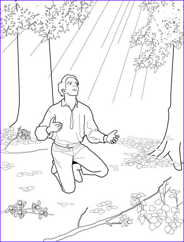 Golden Plates Coloring Page Luxury Photos Joseph Smith Received Golden Plates From the Angel Moroni