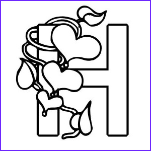 H Coloring Page Luxury Gallery Letter H Coloring Pages Preschool and Kindergarten