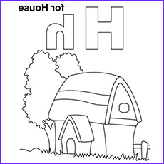 H Coloring Page New Gallery Fun Lower Case Letter H Coloring Page and Lowercase