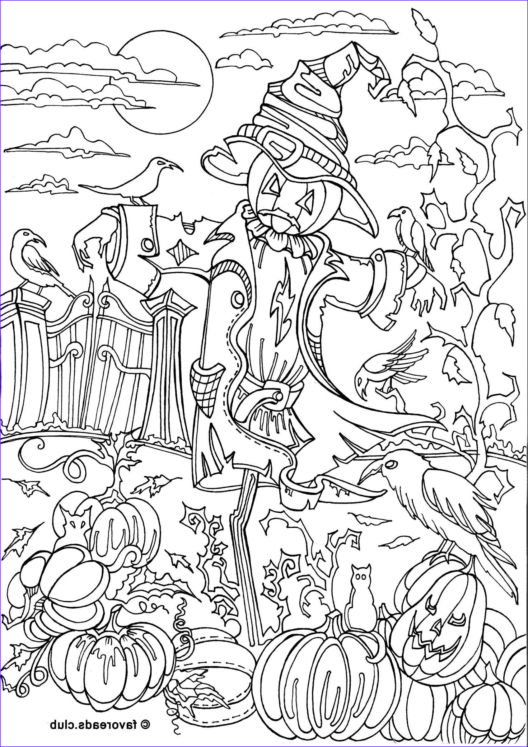 Halloween Adult Coloring Page Luxury Collection Pin by Merry Lou Staylor On Halloweenie