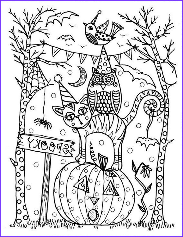 Halloween Coloring Book Page Best Of Photos 20 Fun Halloween Coloring Pages for Kids Hative