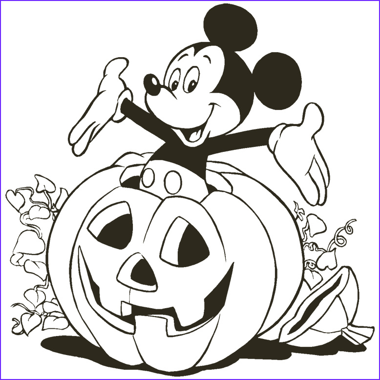 Halloween Coloring Page Free Awesome Stock Free Disney Halloween Coloring Pages Lovebugs and Postcards