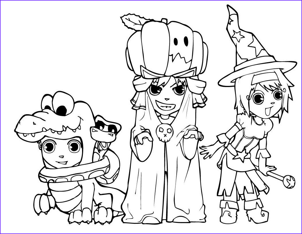 Halloween Coloring Page Free Beautiful Image Halloween Colorings
