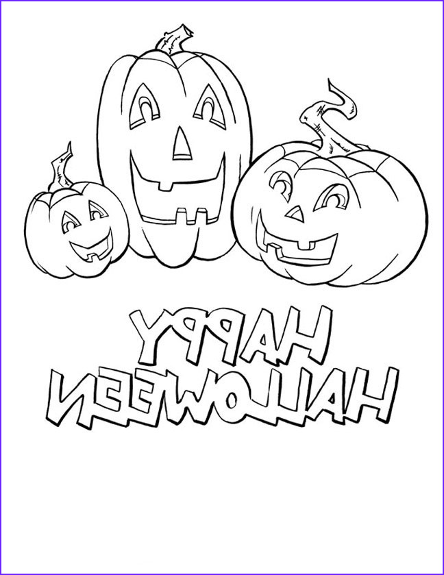 Halloween Coloring Page Free Cool Collection Halloween Coloring Pages Happy Halloween Coloring Pages
