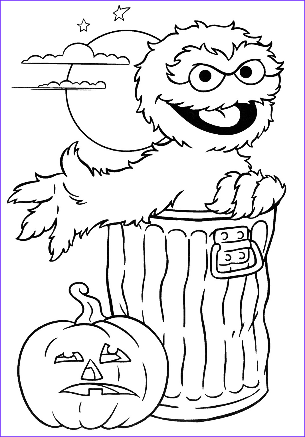 Halloween Coloring Page Free New Images Halloween Archives