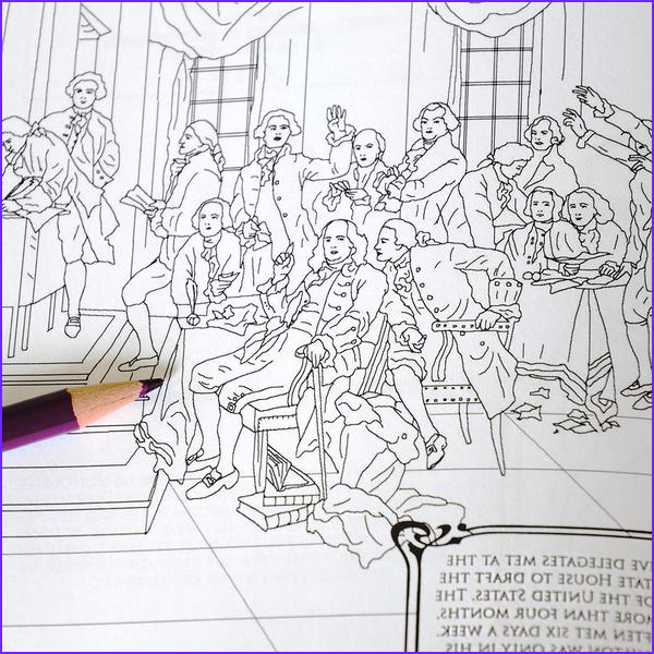 hamilton the adult coloring book
