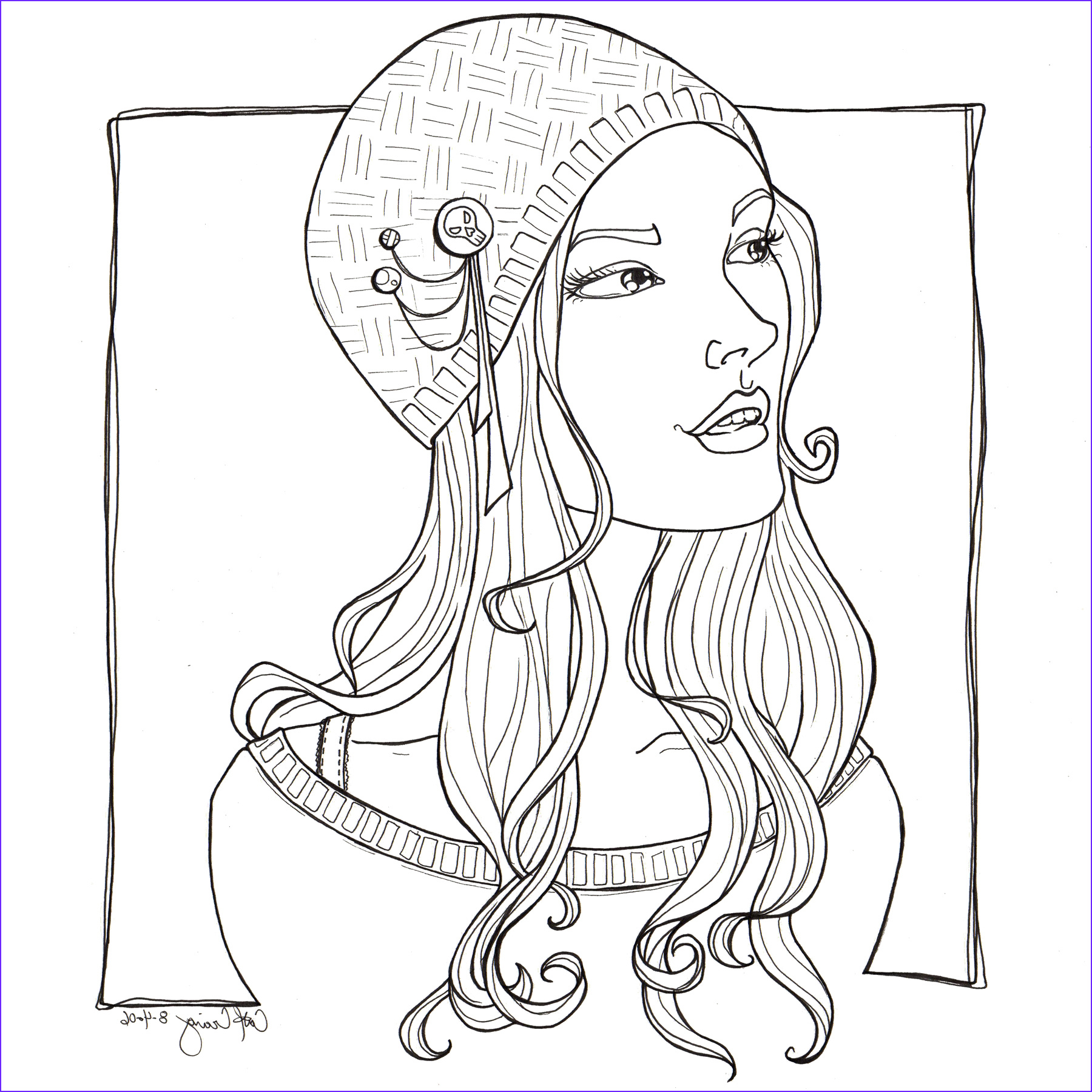 Hard Coloring Page for Girl Awesome Stock Pretty Coloring Pages for Girls at Getcolorings