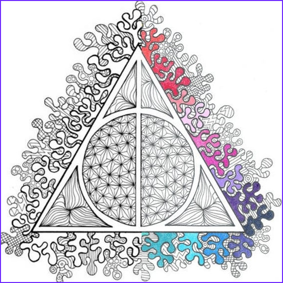 Harry Potter Coloring Book Page Luxury Photos Harry Potter Deathly Hallows Pdf Coloring Page