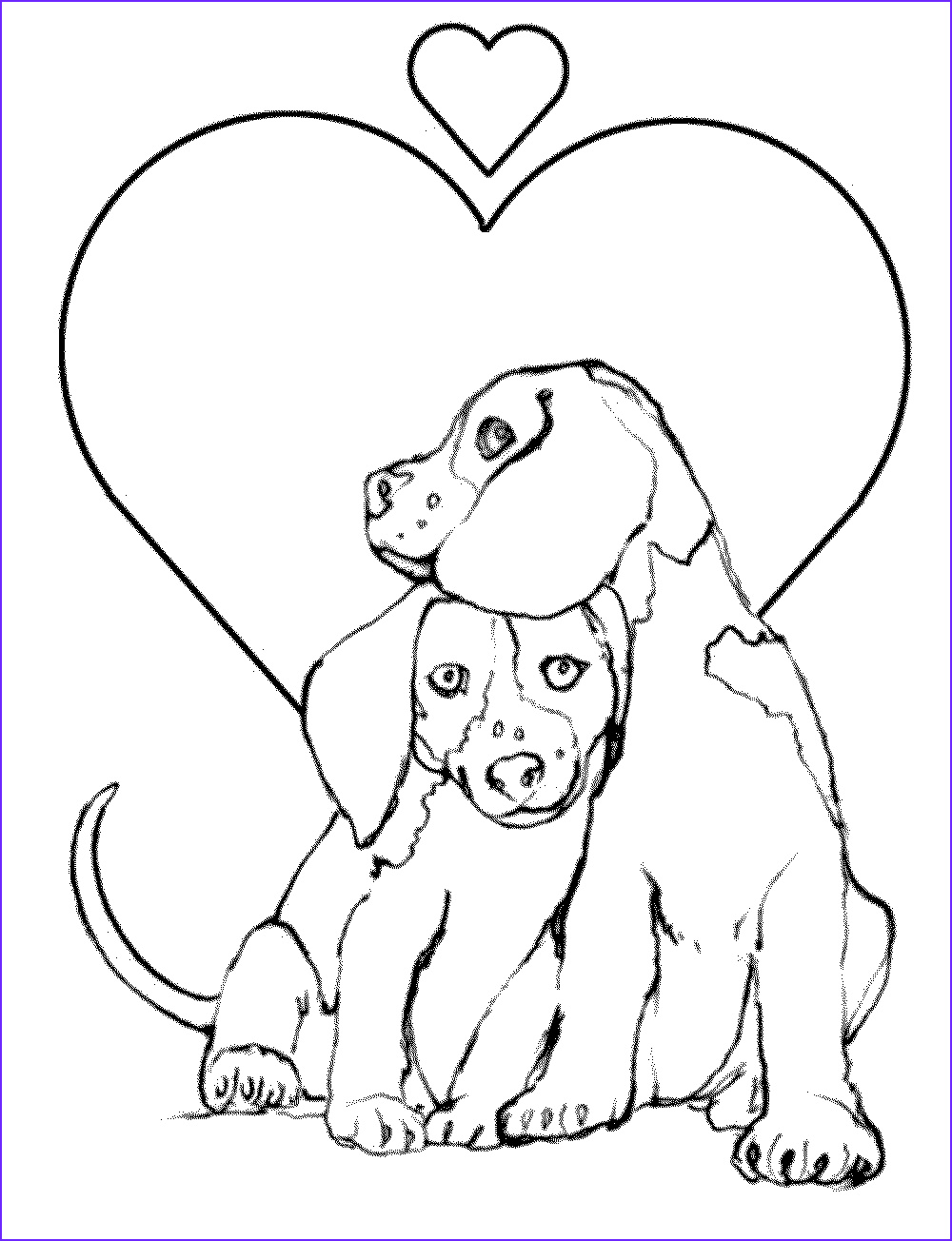 employ dog coloring pages childrens creative time