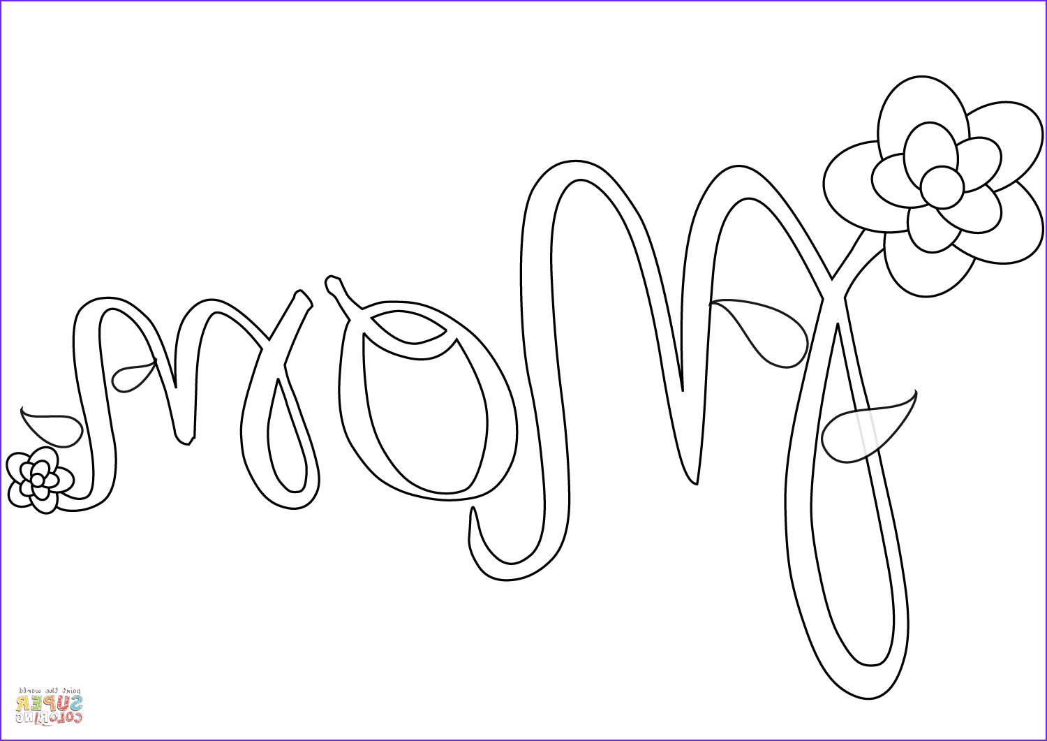 I Love You Mommy Coloring Page Cool Image Mom Coloring Page