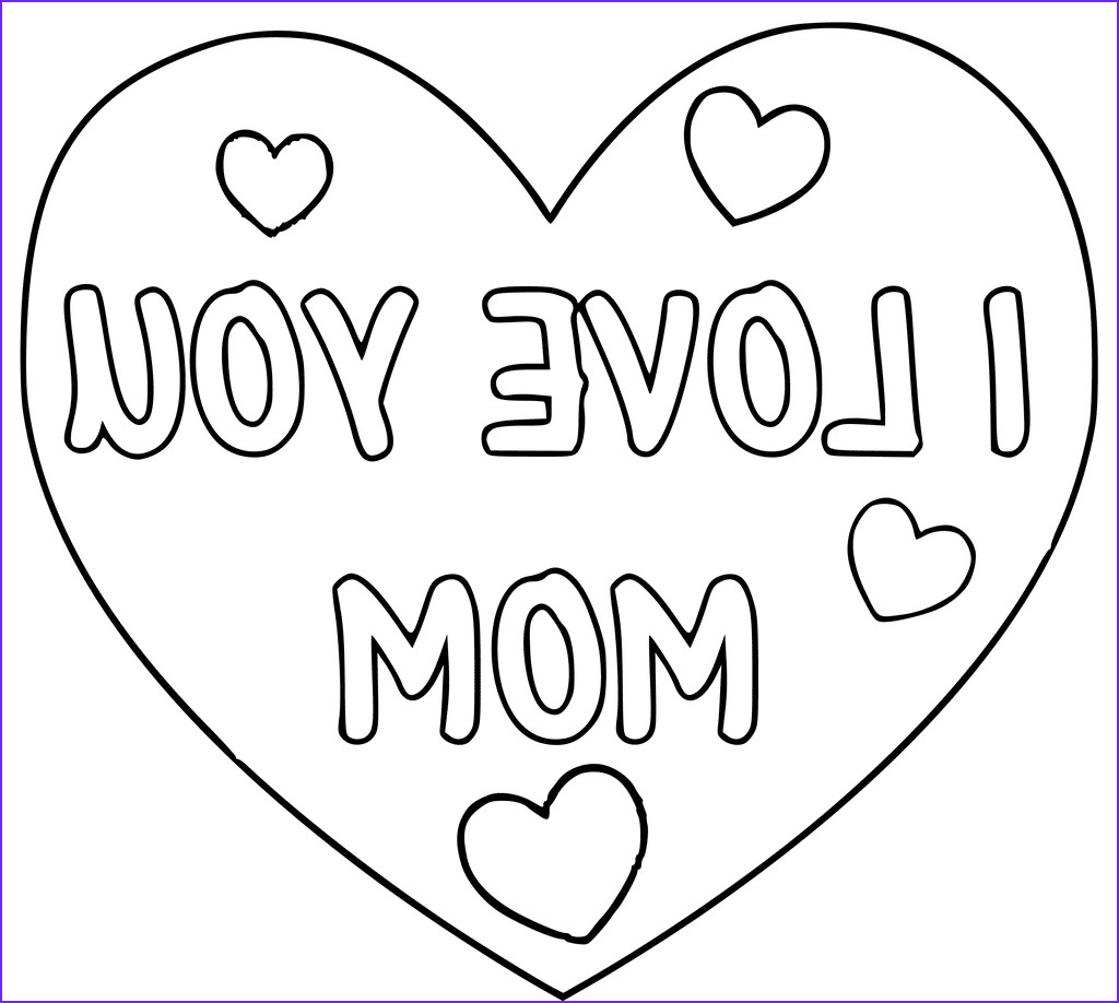 homely idea i love my mom coloring pages daddy mommy