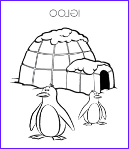 Igloo Coloring Page Best Of Photos Eskimo and Igloo Coloring Pages