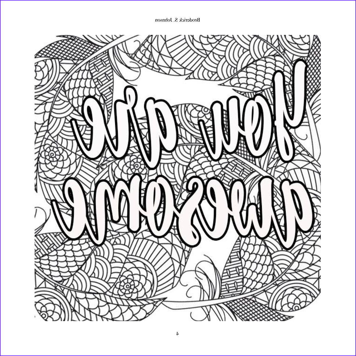 Inspirational Quotes Coloring Page for Adults Beautiful Images Free Inspirational Adult Coloring Pages at Getcolorings