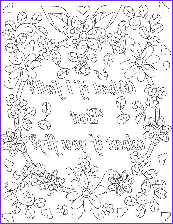Inspirational Quotes Coloring Page for Adults Best Of Gallery Inspirational Quotes A Positive & Uplifting by