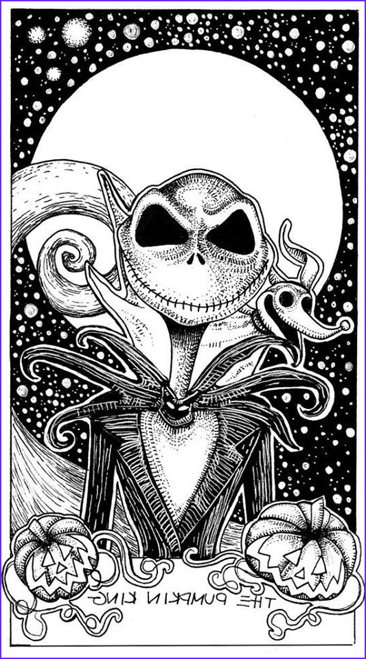 Jack the Pumpkin King Coloring Page Best Of Image Jack the Skeleton Wallpapers