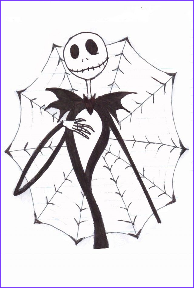 jack the pumpkin king coloring pages sketch templates