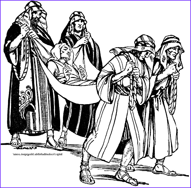 Jesus Heals the Nobleman's son Coloring Page Best Of Stock Jesus Heals A Paralytic