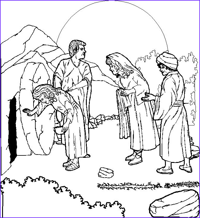 Jesus Resurrection Coloring Page Elegant Photos Easter Coloring Pages April 2011