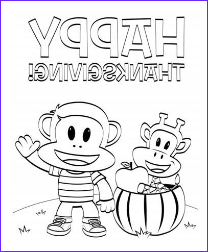 Julius Jr Coloring Page Beautiful Stock Get Ready For Thanksgiving With This Julius Jr Coloring